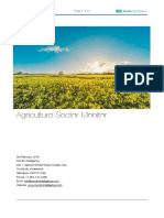 Agriculture Sector Outlook-2016