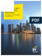 Materiality and Sustainability Disclosure - SGX Top50 - Ernst & Young Thought Leadership Oct2015