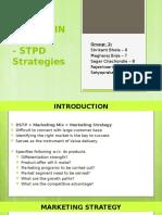Marketing Strategy- STPD