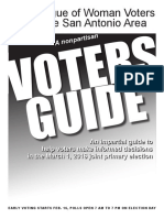 2016 Primary Voters Guide