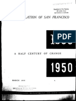 San Francisco DepartmThe Population of San Francisco A Half Century of Changeent of City Planning - 1954 - The Population of San Francisco a Half Century of Change