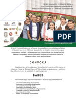 Convocatoria Programa Estatal de Becas y Financiamiento 1