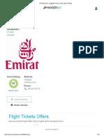Emirates (EK) - Baggage Prices, Delay Stats, Ratings