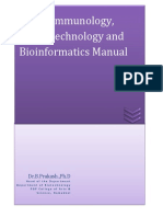 Immunology RDNA Bioinformatics Manual