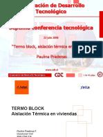 Termo Block Aislacion Termica Viviendas-paulina Pradenas
