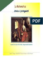 La Matematica - Storia e Protagonisti
