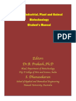 Industrial Plant and Animal  Biotechnology