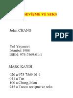 Chang Jolan Taocu Sevisme Ve Seks