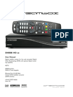 User Manual Dm800hdse