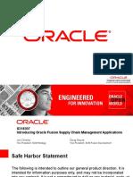 SCM of Fusion application