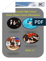 S4-6 Course Information Booklet (2016-17)