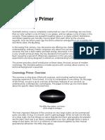 Cosmology Primer