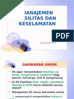 Manajemen Fasilitas Dan Keselamatan RS MFK