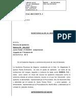 Sentencia ACCIONES BANKIA Audiencia Provincial Segovia
