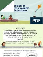 Prevención de Accidentes y Manejo Inicial de Lesiones Exposicion