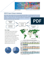 OECD Input-Output database