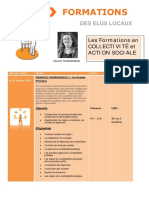 Formations 1er Semestre 2016 Collectivité Et Action Sociale