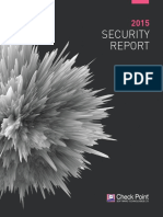 CheckPoint 2015 SecurityReport