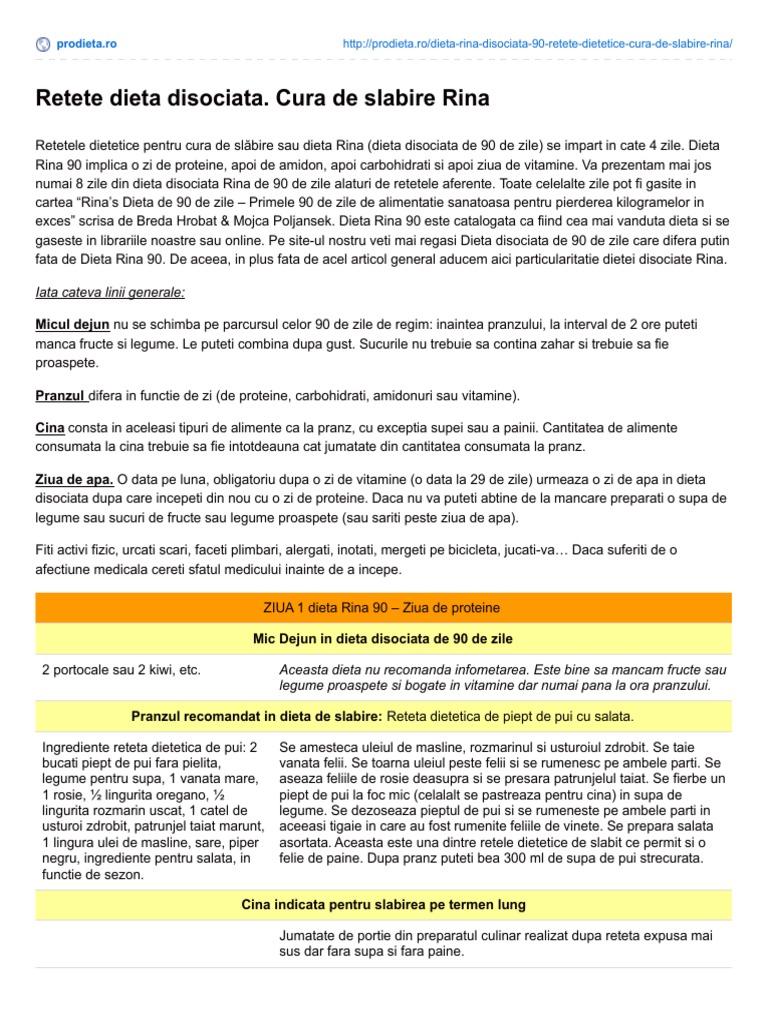 Cura de Slトッire RINA - Recomandatト・ネ冓 de Cardiologi | LaTAIFAS