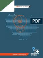 Rapport Activités 2014 APDIDF