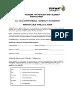 Appraisal Form -BIHM(NEW)