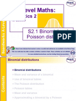 S2.1binomial Poisson Distributions