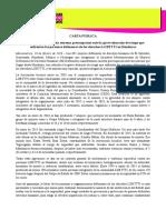 CARTA PÚBLICA IM-Defensoras manifiesta extrema preocupación ante la grave situación de riesgo que enfrentan las personas defensoras de los derechos LGBTTTI en Honduras(10022016)