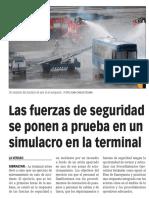 160210 La Verdad CG- Las Fuerzas de Seguridad Se Ponen a Prueba en Un Simulacro en La Terminal p. 9