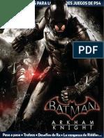 Playmanía Guía Batman Arkham Knight PS4
