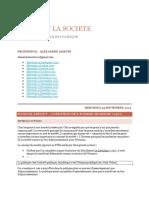 L'Etat Et La Société - Philosophie Morale Et Politique