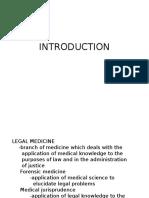 Legal Medicine Notes