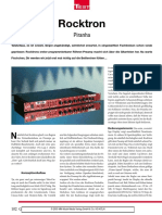 Rocktron Piranha Review