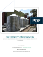 Condensate Recovery in HVAC System_mudassar Idris Raut