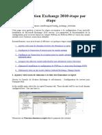 Configuration Exchange 2010 Étape Par Étape