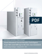 Catalog HA 35.11 Fixed-Mounted Circuit-Breaker Switchgear Type 8DA and 8DA