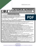 Set- A Organic Chemistry
