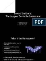 Beyond the Limits the Usage of Cpp in the Demoscene