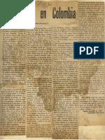 """Cayetano B., La Filosofía en Colombia, en """"Devenir"""", No. 1, 1958"""