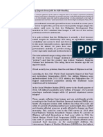 Nutrition and Food Security Proposals and Inputs
