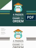 Ebook 4 passos Endireitados