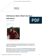 Anti-Cancer Diets_ What's the Deal With Dairy_ _ Eat and Beat Cancer