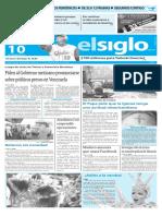 Edición Impresa El Siglo 10-02-2016