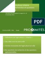 5- Les formes de l_agriculture urbaine_Christine Aubry.pdf
