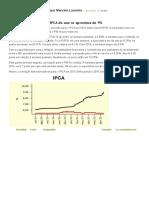 22.06.2015 - Focus_ Expectativa Para IPCA Do Ano Se Aproxima de 9% - Míriam Leitão_ O Globo