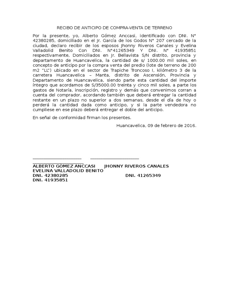 RECIBO DE ANTICIPO DE COMPRAVENTA DE TERRENO.docx