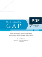 Leadership Gap