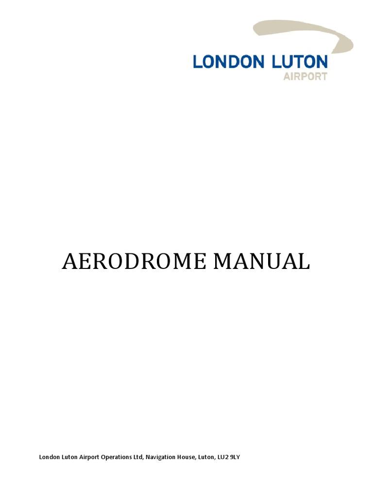 aerodrome manual airport runway rh scribd com