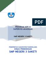 PROGRAM KERJA Supervisi Akademik