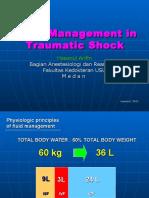 Fluid Management in Traumatic Shock