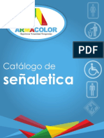 Catálogo Señaletica Armacolor